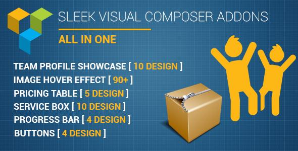 Sleek Visual Composer Addons